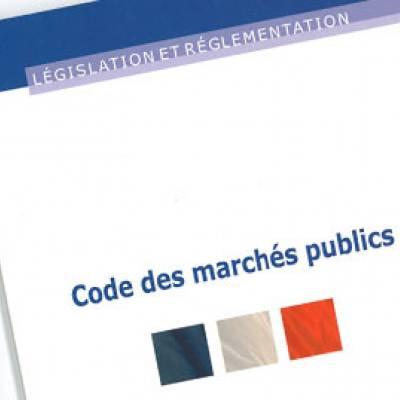 code des marchés publics seuils