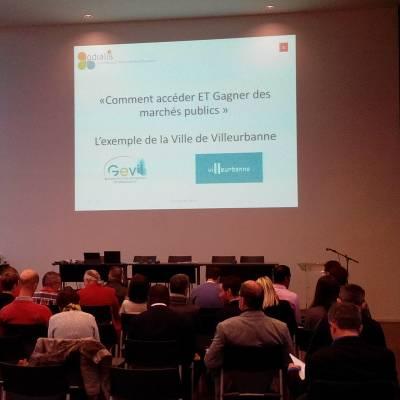 Matinale Villeurbanne - Comment accéder aux marchés publics ?